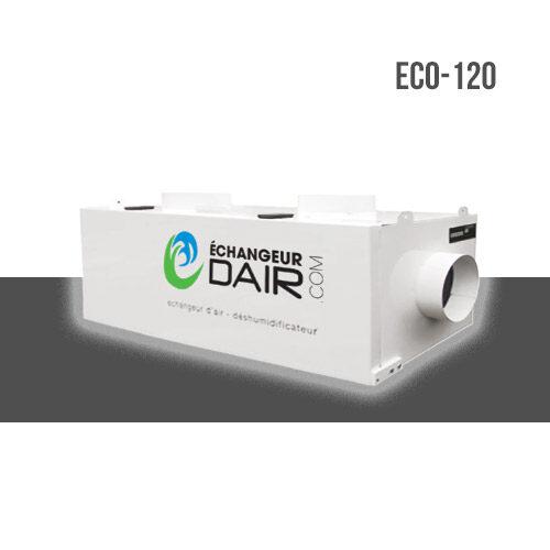 echangeur d'air pour spa deshumidificateur eco 120