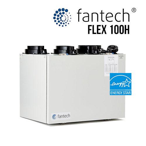 Fantech Flex 100H Ventilateur récupérateur de chaleur